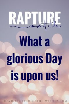 A glorious day is upon us! Come Lord Jesus! He Is Coming, Jesus Is Coming, Christ In Me, Glorious Days, Prayer Scriptures, Daily Thoughts, Daniel Fast, Walk By Faith, Quotes About God
