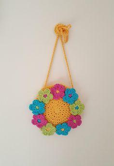 Ring of Flowers Bag Crochet pattern by Avondale Patterns