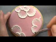 Cómo Pintar Flores con Icing.avi - YouTube