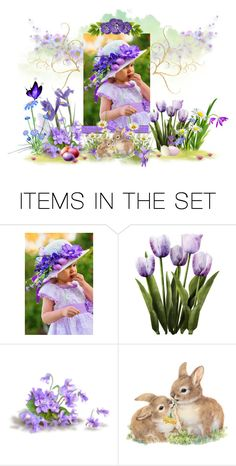 """Easter Outfit"" by mroz-naps ❤ liked on Polyvore featuring art, Easter, springtime, handmade and etsyfru"
