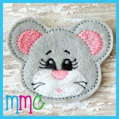 Mouse Feltie (Applique Version)