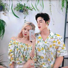 Yg Ent, Korean Products, Kpop Couples, Rainbow Aesthetic, Ulzzang Couple, Ikon, Taehyung, Conversation, June