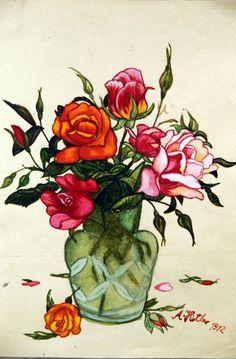 Roses by Adolf Hitler