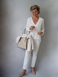 Sommerbeige für Tasche und Schuhe   women2style