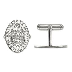 University of Tennessee Crest 925 Sterling Silver Cufflinks Officially Licensed