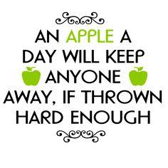 Gratis illustration: Visdom, Apple, Kasta, A, De Flesta - Gratis bild på Pixabay…
