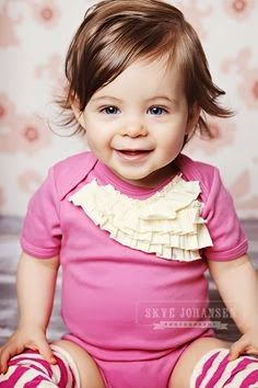 Hairstyles For Short Hair Baby Girl : ... more baby girl hairstyles girl haircuts baby girls haircuts cute