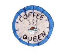 Coffee Queen Patch