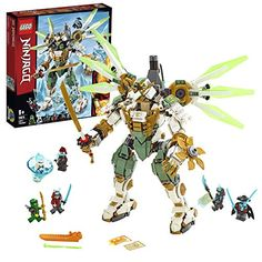 Buy LEGO Ninjago Lloyds Titan Mech Playset - 70676 at Argos. Thousands of products for same day delivery or fast store collection. Shuriken, Robot Ninja, Robot Lego, All Lego Sets, Best Lego Sets, Lego Sets For Boys, Katana, Shop Lego, Buy Lego