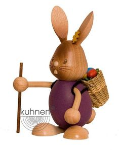 A product from the 'Stupsi Rabbits' edition - The funny and vivid bunny world of Kuhnert embodies the joy and life of spring time! They are a perfect addition to your Easter celebration. Mountain Crafts, Beer Mugs, Easter Celebration, Corporate Gifts, Easter Bunny, Handicraft, Candle Holders, Joy, Christmas Ornaments