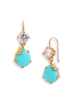 Juicy Couture..love gold and turquoise