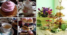Afternoon Tea themed Wedding Breakfast