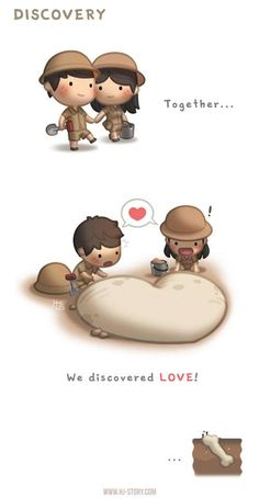 Together... we discovered love. <3 <3