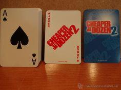 BARAJA DE POKER. DORSO: CHEAPER BY THE DOZEN. 54 CARTAS. CAJA ORIGINAL. DESPRECINTADA A ESTRENAR