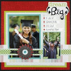Dream Big Enchanted Scrapbook Page Layout Idea from Creative Memories #scrapbooking    http://www.creativememories.com