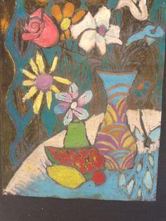 Less Talk, More Art: A middle school art ed blog: Matisse inspired batiks 6th grade