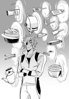 the secret of touken ranbu Date Masamune, Blood Hunter, Allen Walker, Kawaii, Manga Boy, Touken Ranbu, Anime Guys, Wattpad, Crossover