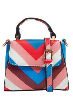 90b95529eae3 Skinnydip Candy Stripe Micro Lady Bag Candy Stripes