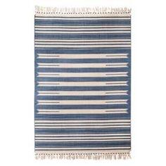 Mudhut™ Beaded Flatwoven Stripe Area Rug