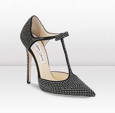 Jimmy Choo Studded Pointy Toe Pumps