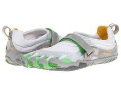 Bikila (Silver/Verde/Silver) - Footwear