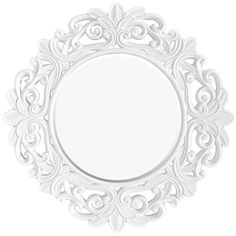 Orchid Wall Mirror