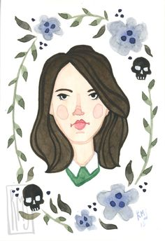 Pop Portraits — Rachel M Silva - Art Parks And Rec Memes, Parks And Recs, Parks And Recreation, Blood Orphans, Best Shows Ever, Movies Showing, Funny People, Sketches, Fan Art