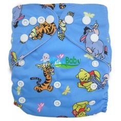 AnAnBaby Cartoon Prints Baby Cloth Diaper + One MF Insert Q21 [Q21] - $5.90 : AnAnBaby-Wholesale and Retail Quality Baby Cloth Diaper
