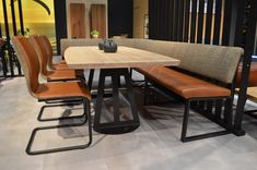 Dining Table With Bench, Dining Area, Somerset, Furniture Design, Living Room, Kitchen, Home Decor, House, Cooking