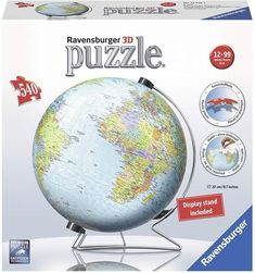 New kids 3d jigsaw puzzle 108 piece ravensburger childrens world ravensburger the earth 3d puzzle globe 540 pieces gumiabroncs Image collections