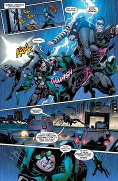 Preview #2 of the Green Arrow Comic Book #37 (December 2014)