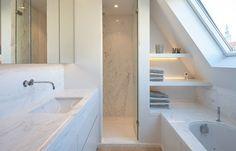 De Ideale Zolderkamer : Beste afbeeldingen van badkamer op zolder tiles bathroom en