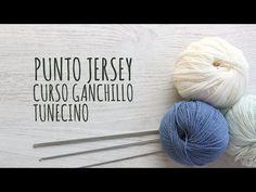 Curso Ganchillo Tunecino - Punto Jersey