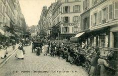 Rue Lepic - Montmartre - Paris