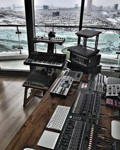 synthétiseur studio