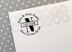Stampin' Up! has these wonderful new stamps you can personalize.  It can be created to be used for so many types of uses / occasions.