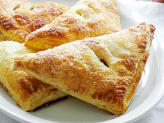 Barefoot Contessa's Apple Turnovers. REVIEW: These go super quick in my house...sometimes I replace puff pastry with pie dough and it's equally yummy. http://www.ezrapoundcake.com/archives/382