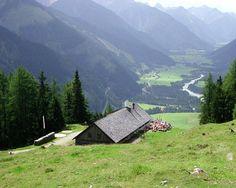 Lechtal - Stanzach-Elmen via Neerengrat Senn Hütte in zicht