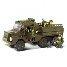 Army Truck - Military Lego Compatible Set