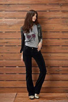 Pantlaones oxford Kevingston Mujer otoño invierno 2015. Moda otoño invierno 2015.