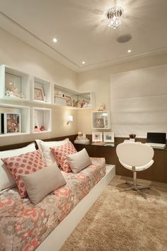 Cool for a teen's room. (Apartamento Idylle / Arquiteto: Guardini Stancati Arquitetura Design)