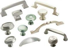 Cabinet Hardware Satin Nickel Knobs Pulls & Hinges