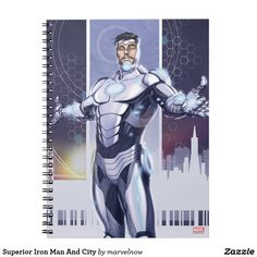 Superior Iron Man And City