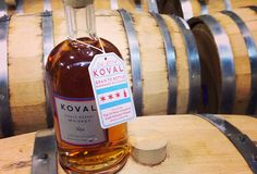 Sample some made-in-Chi whiskey at the Koval Distillery in Ravenswood.