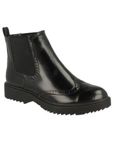 FC Vegan Footwear Vegan Punched Chunky Chelsea Boots