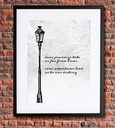 Chronicles of Narnia Poster Art | Instant Download | CS Lewis | Lewis Quote | Literary Quote | Aslan | Inspirational | Lion Witch Wardrobe