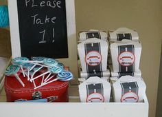 Race Car Favor Tags by Stylingthemoment on Etsy