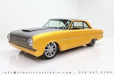 Ford : Falcon Custom 1963 Ford Falcon Custom, Full - http://www.legendaryfinds.com/ford-falcon-custom-1963-ford-falcon-custom-full/