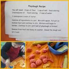 SUPER Soft Playdough DIY Recipe! (Festival Pictures, too!) at RainbowsWithinReach
