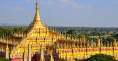 Thambuddhei pagoda, Monywa,Myanmar #SaffronTravel #Myanmar #MICE #Travelmediate